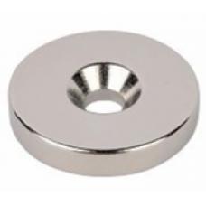 Неодимовый магнит диск с зенковкой 20*4.5/10*5