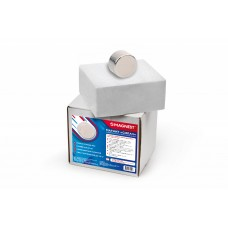 Неодимовый магнит диск 40х20 мм Силач