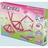 Магнитный конструктор GEOMAG Kids Color 66 Pink