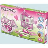 Магнитный конструктор GEOMAG Kids Panels 142 Pink