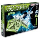 Магнитный конструктор GEOMAG Kids panels glow 76